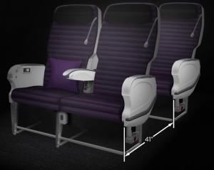 Virgin Australia Premium Economy Seat