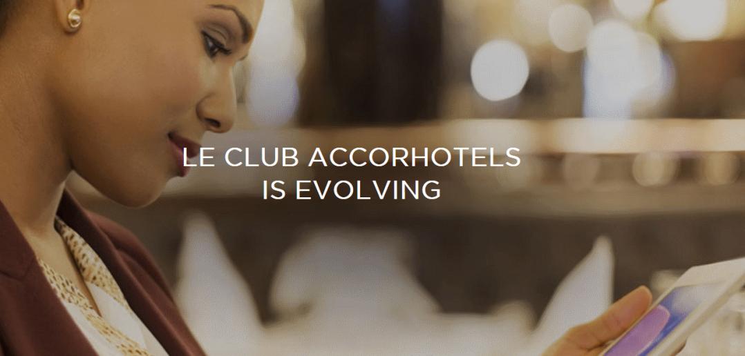 Le Club AccorHotels is evolving