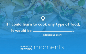 Marriott Rewards Connect and Collect Points