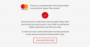 Qantas Link Confirm