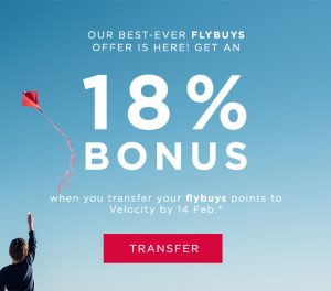 Flybuys 18%
