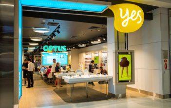 Optus Retail Shop