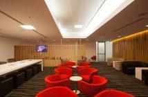View of the Qantas Club