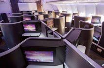 Virgin Australia's new A330 Business Class