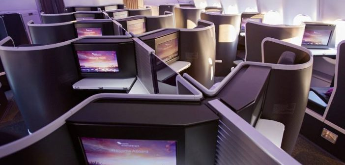 Virgin Australia's new A330 Business Class
