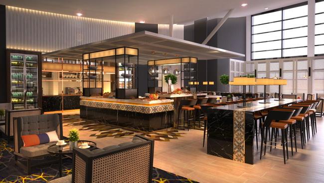 MH Golden Lounge concept