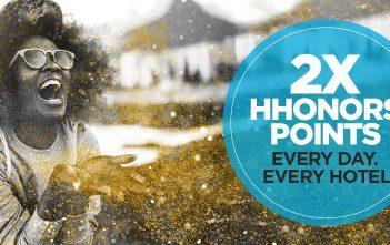 Hilton HHonors Double Points