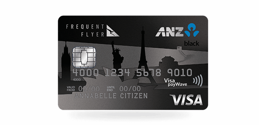 75000 points on a new anz frequent flyer black card fly stay points anz frequent flyer black reheart Images