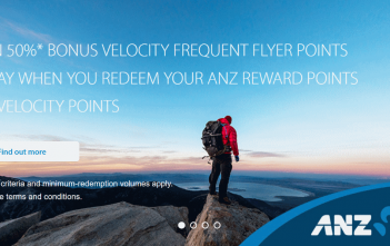 ANZ Rewards 50% transfer bonus