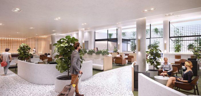 Qantas Lounge Perth Interior