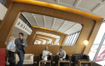 Qantas First Lounge Sydney