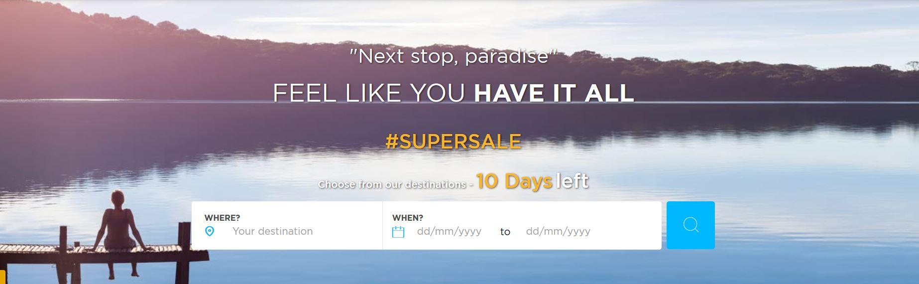 Accor Super Sale