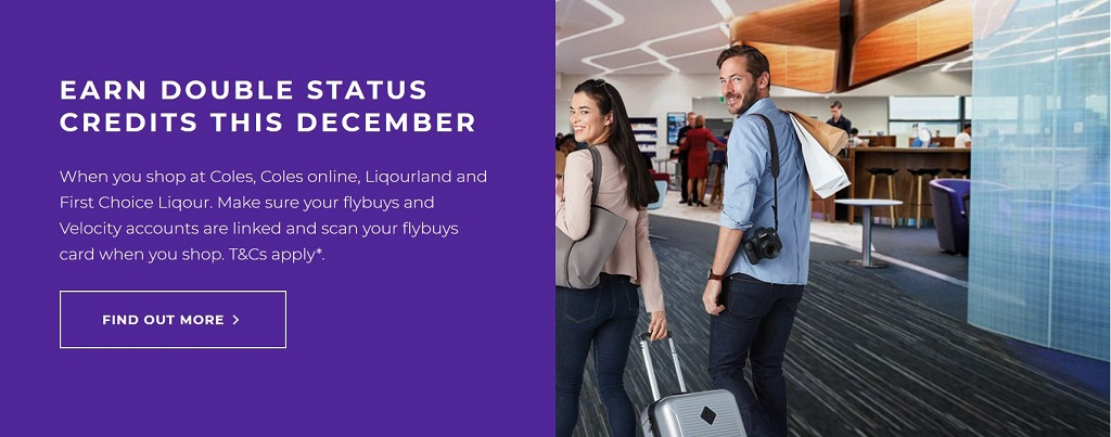 Flybuys Double Status Credits
