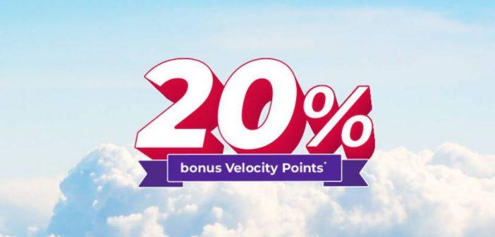 Velocity 20% Transfer Bonus