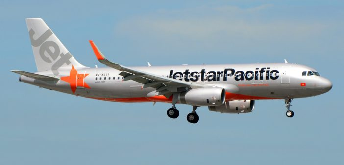Jetstar Pacific aircraft