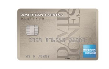 American Express David Jones Platinum