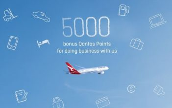 Qantas Business Rewards 5,000 points offer