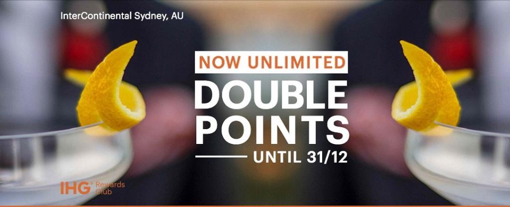 IHG Rewards Double Points