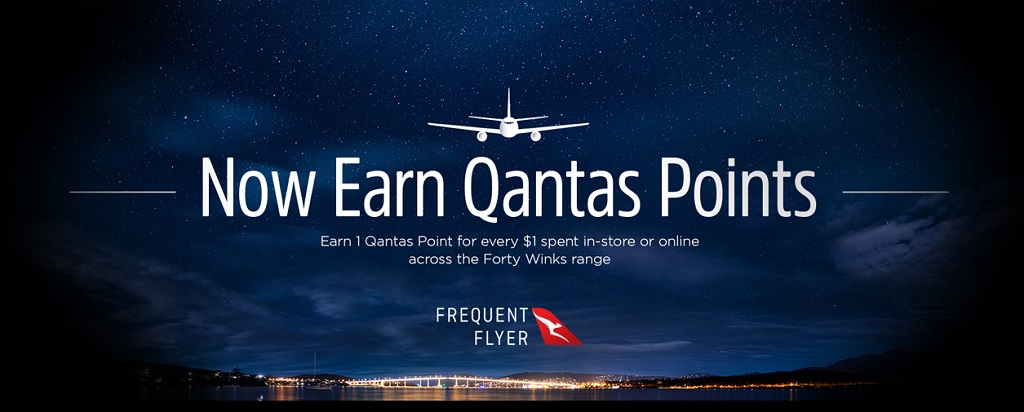 Qantas gets into bed with Forty Winks - Fly Stay Points