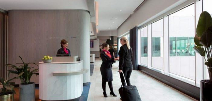 Qantas Lounge Melbourne
