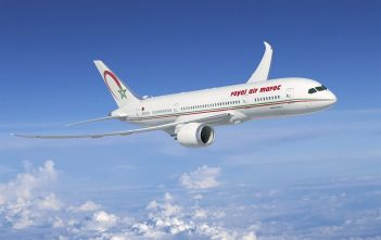 Royal Air Maroc inflight