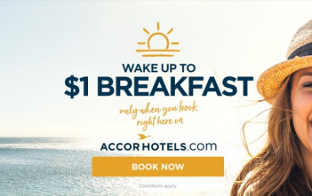 Accor 1 Dollar Breakfast
