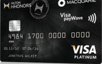 Hilton Honors Macquarie Platinum card