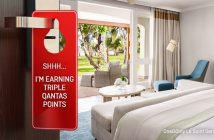 Qantas Hotels Triple Points