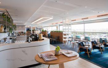Qantas Brisbane International Lounge