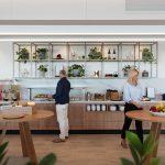 Qantas Brisbane Lounge Buffet