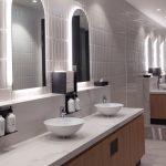 Qantas Brisbane Lounge Restroom