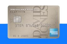 David Jones Amex Platinum