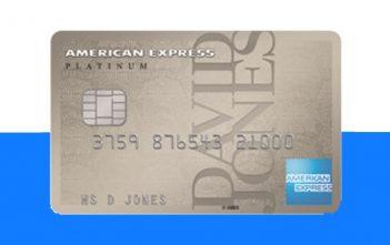 David Jones Amex Platinum