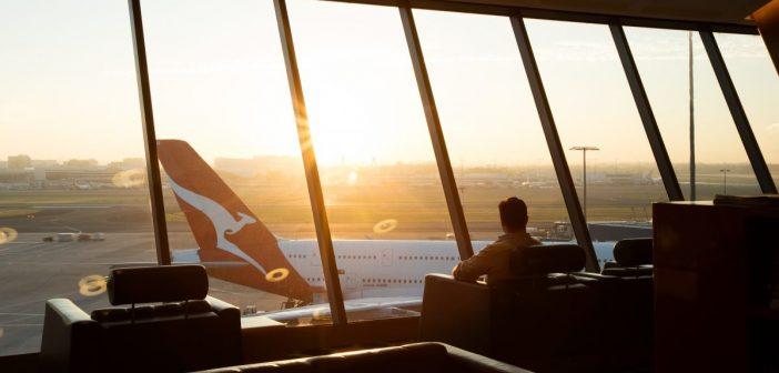 Qantas Sydney First Lounge