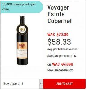 Voyager Estate Cabernet offer