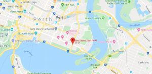 Ibis Styles East Perth Location