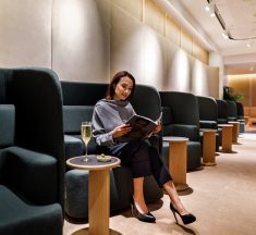 Qantas officially opens new Singapore First Lounge