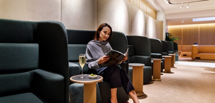 Qantas Singapore International Lounge