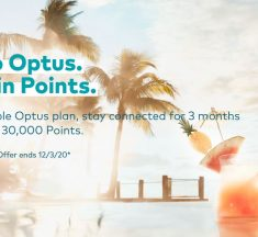 Earn Velocity Points on Selected Optus Plans