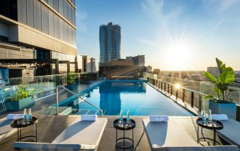 Crowne Plaza Adelaide - level 10 Pool Deck