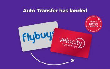 Flybuys to Velocity Auto Transfer