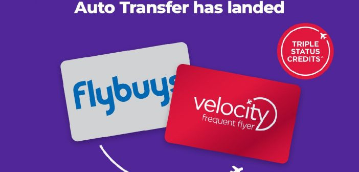 Flybuys to Velocity Auto Transfer