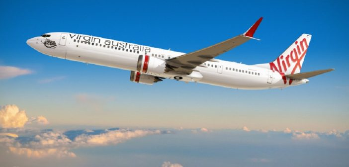 Virgin Australia 737 MAX 10 render