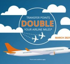 Get Double Airline Points when you transfer Choice Privileges points